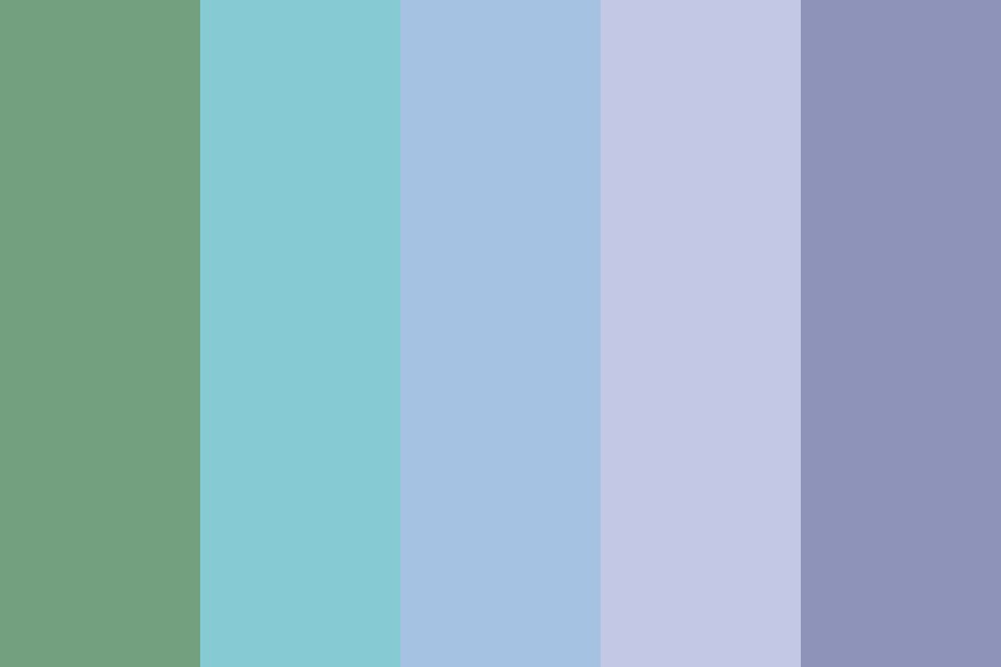 Greenviolet Color Palette