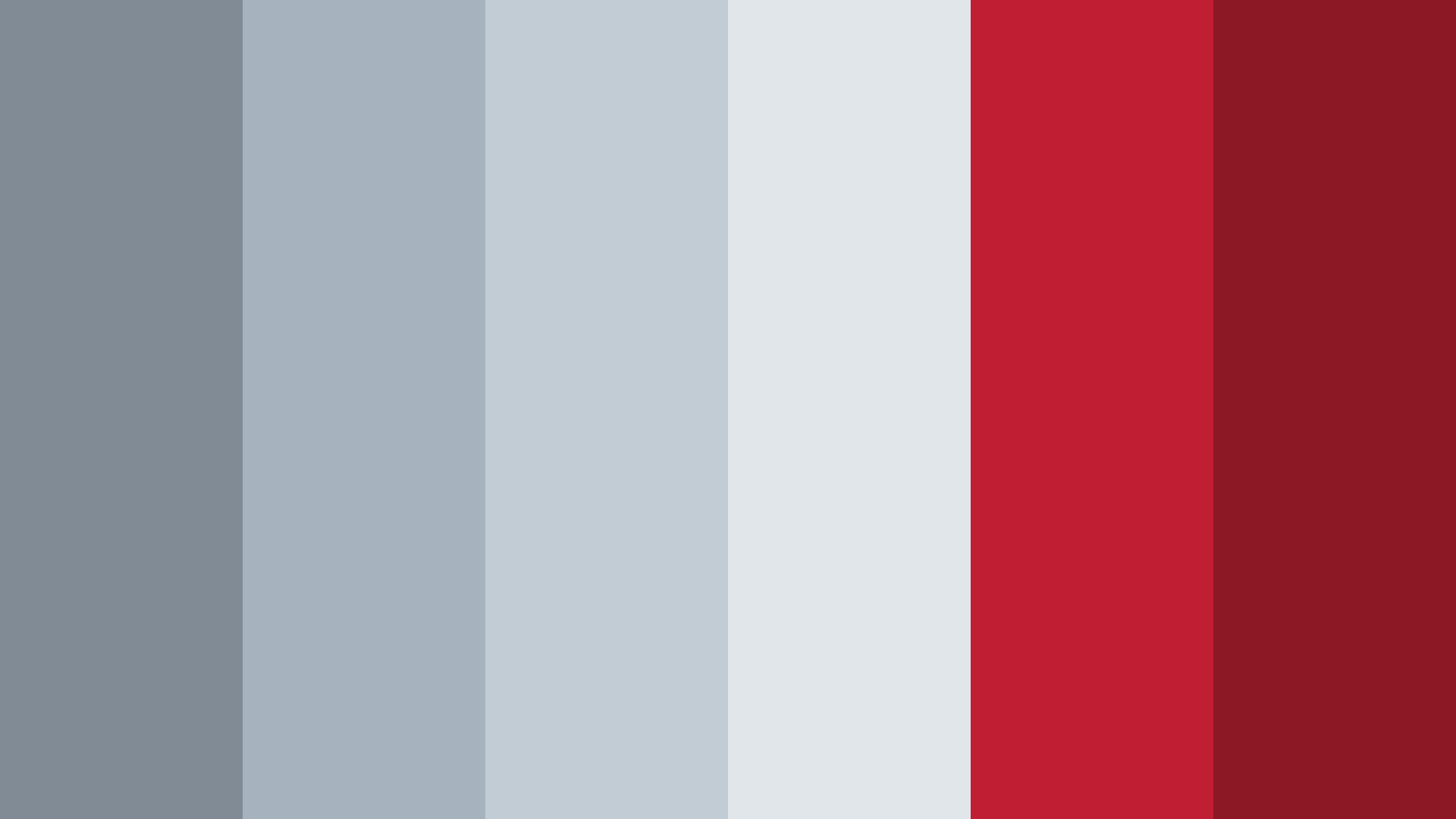 Grey And Red Superhero Color Palette