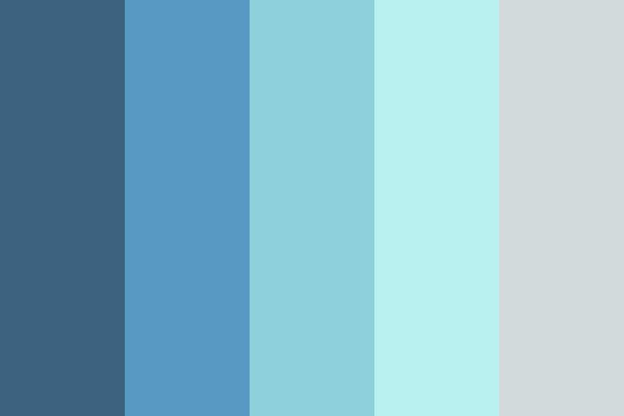 Grey Beach Color Palette
