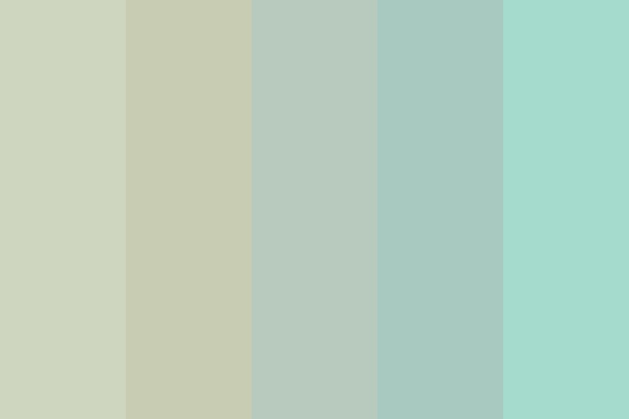 Grey Beach Day Color Palette