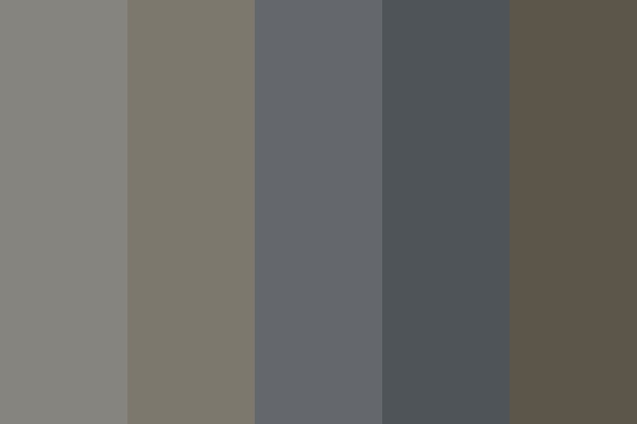 Grey Mood Color Palette