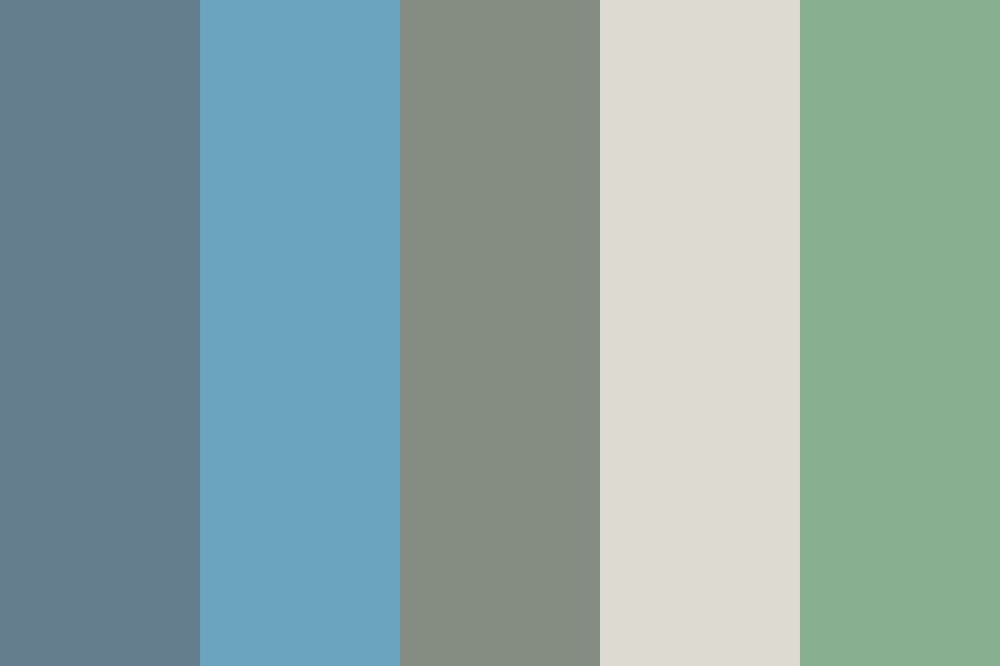 Grey Sea Color Palette