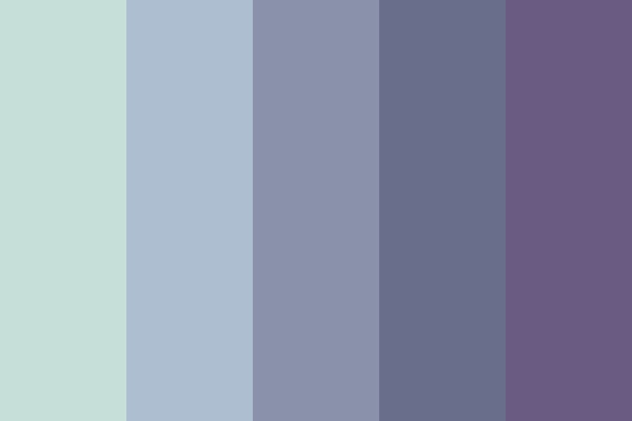 Grey Skies Of England Color Palette