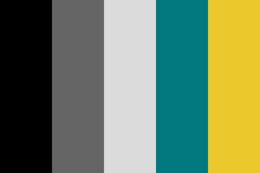 Grey Teal Collabo Color Palette