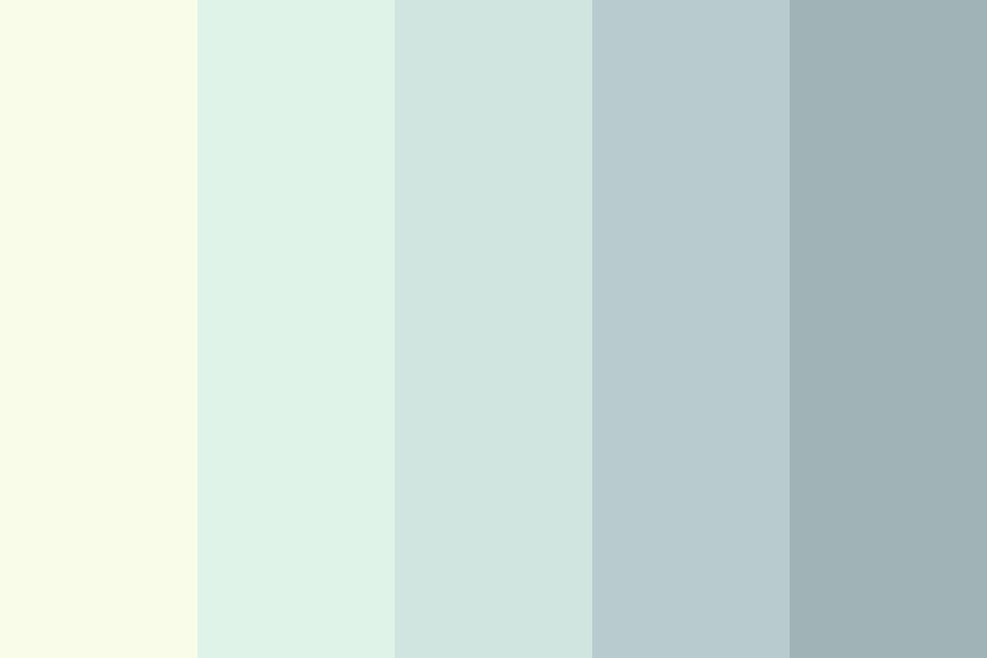 Grey Waterfall Color Palette