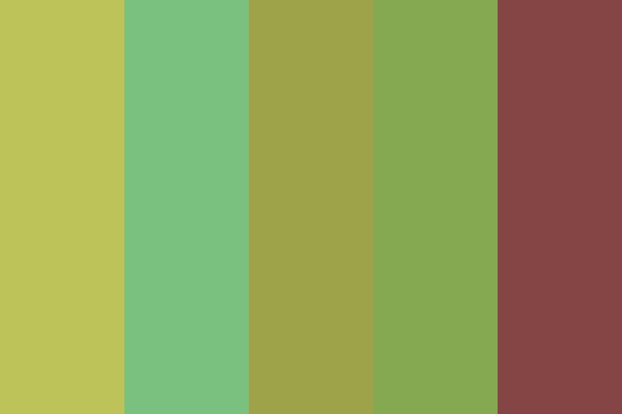 Greypheonix Color Palette