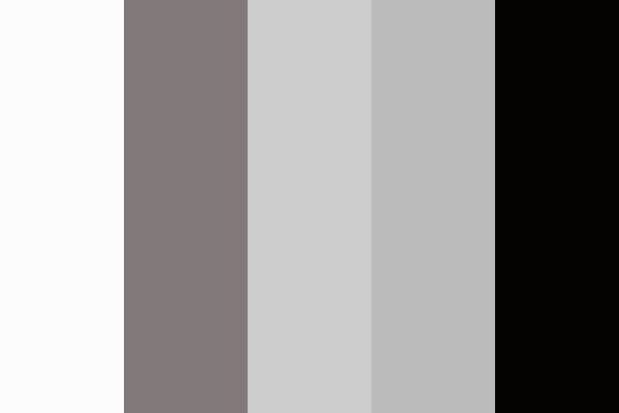 Greys Antomey Color Palette