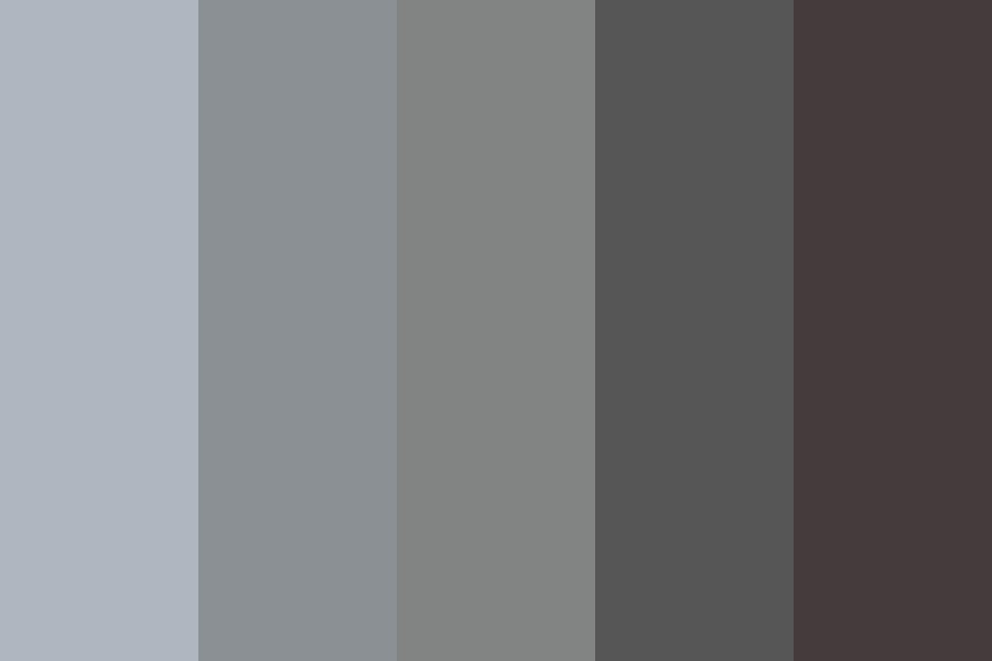 Greyscale Sunset Color Palette