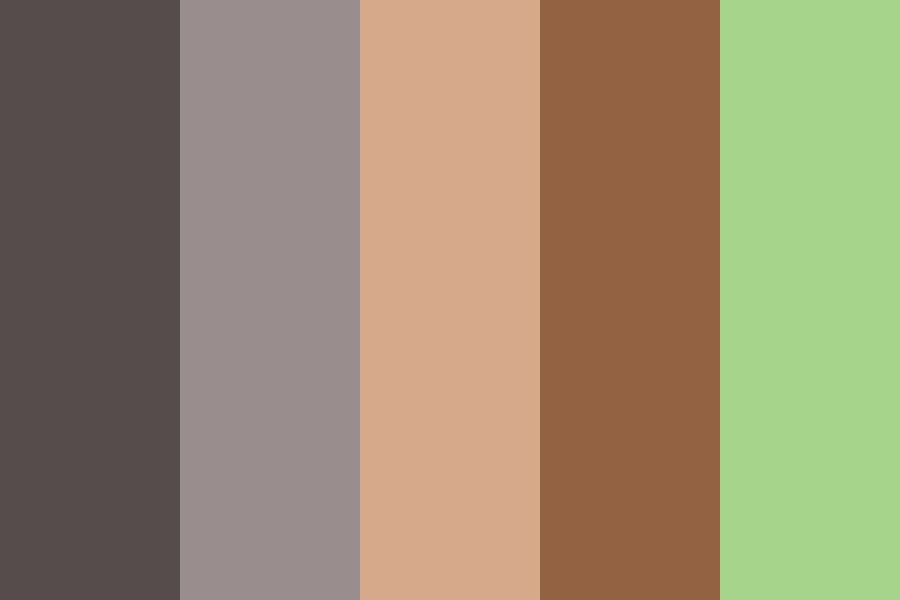 Greystripe And Fireheart Color Palette