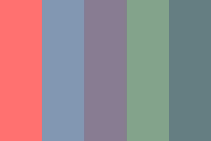 Gross Muted Colors Color Palette