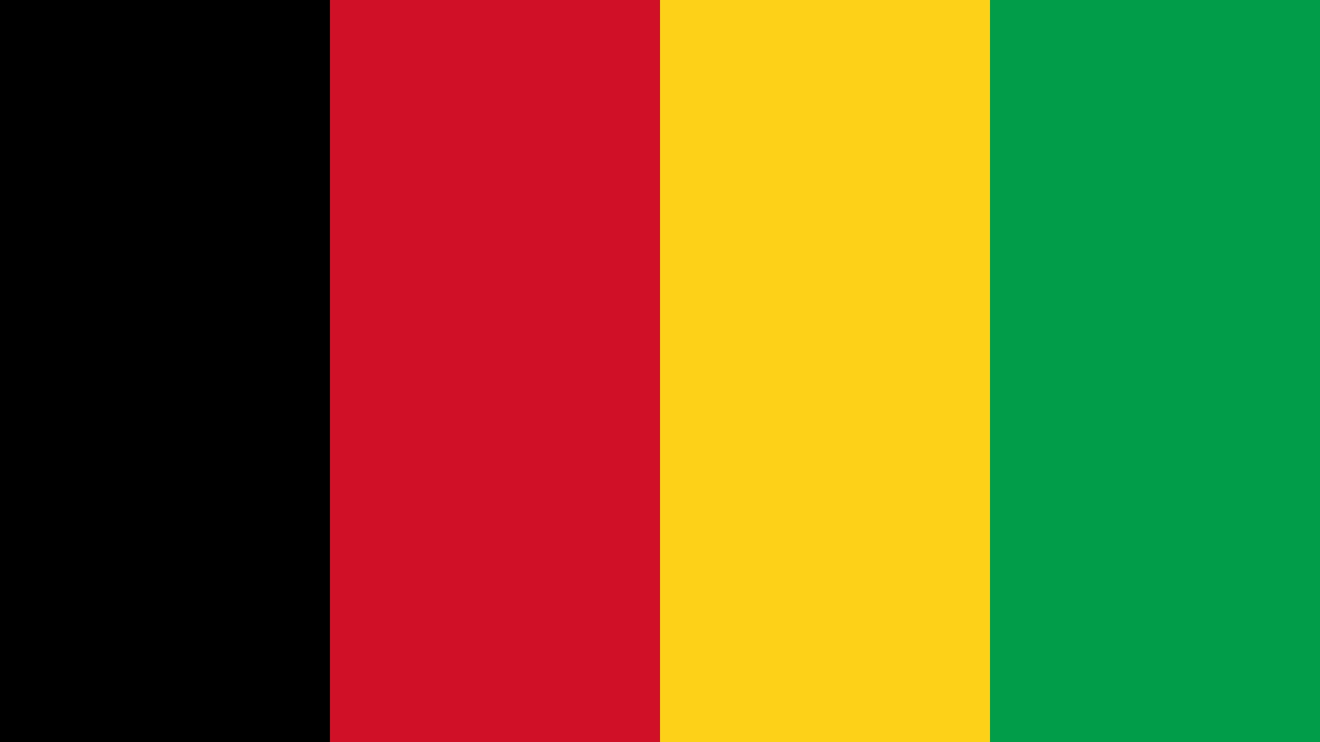 Guinea Bissau Flag Color Palette