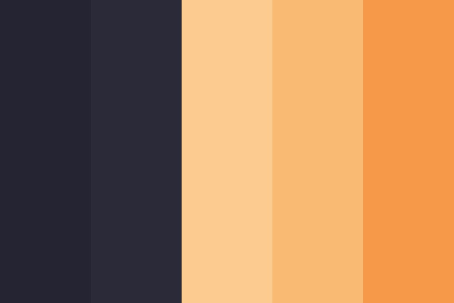 Halloween  Boooh  Color Palette