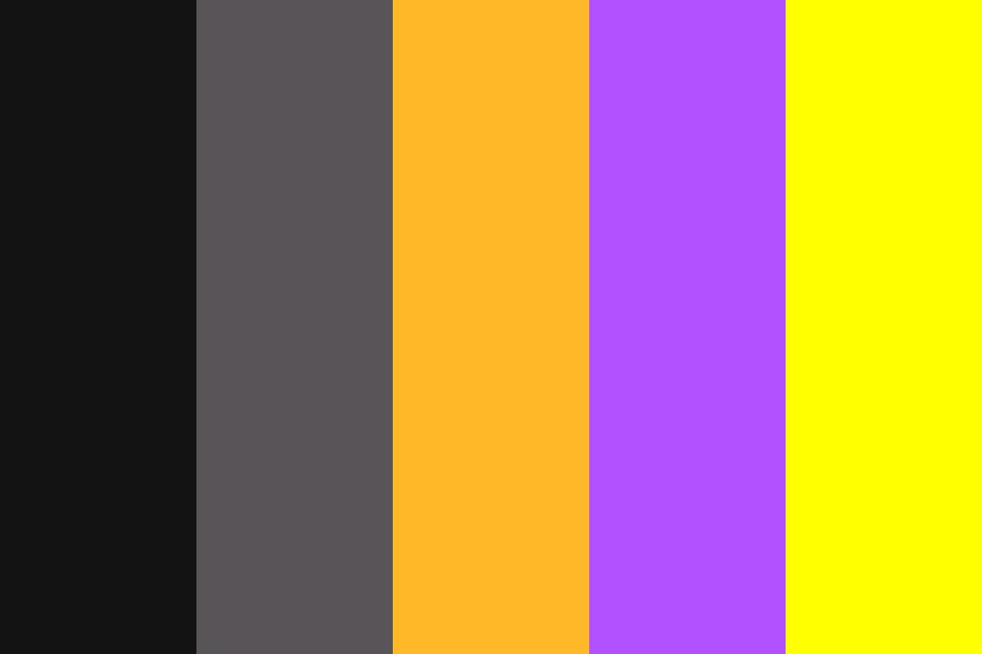 Halloween Queen Color Palette