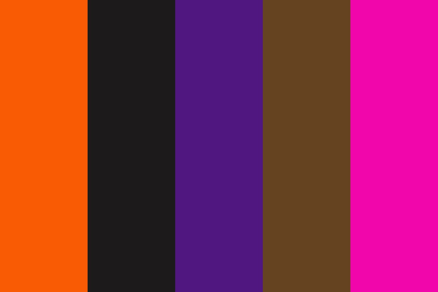 Halloween Style Color Palette