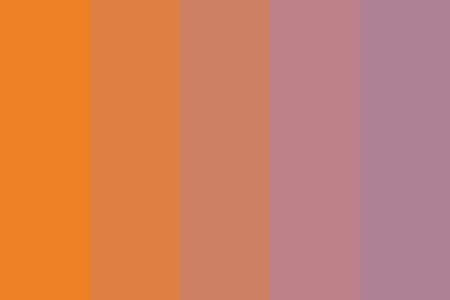 Halloween Too Color Palette