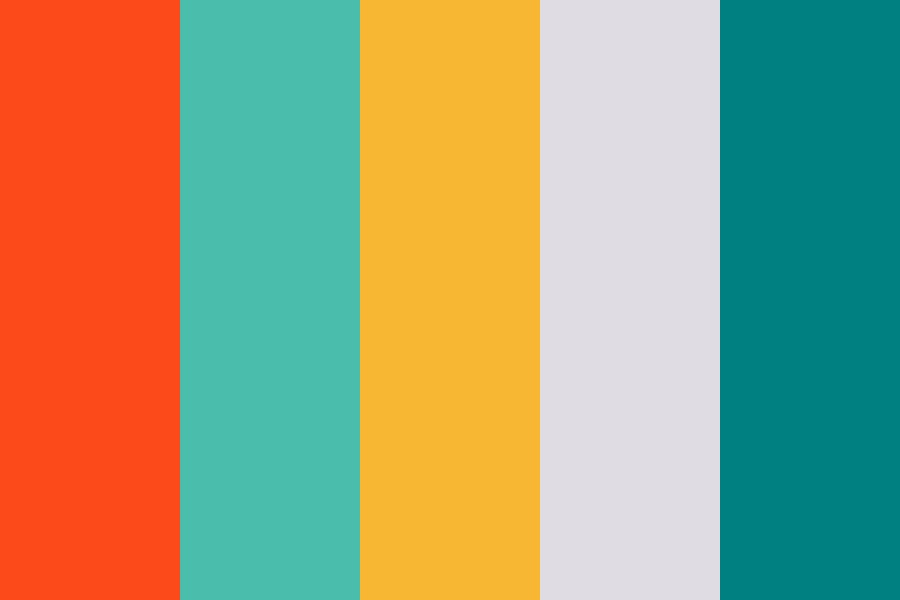 Happy And Bright Color Palette