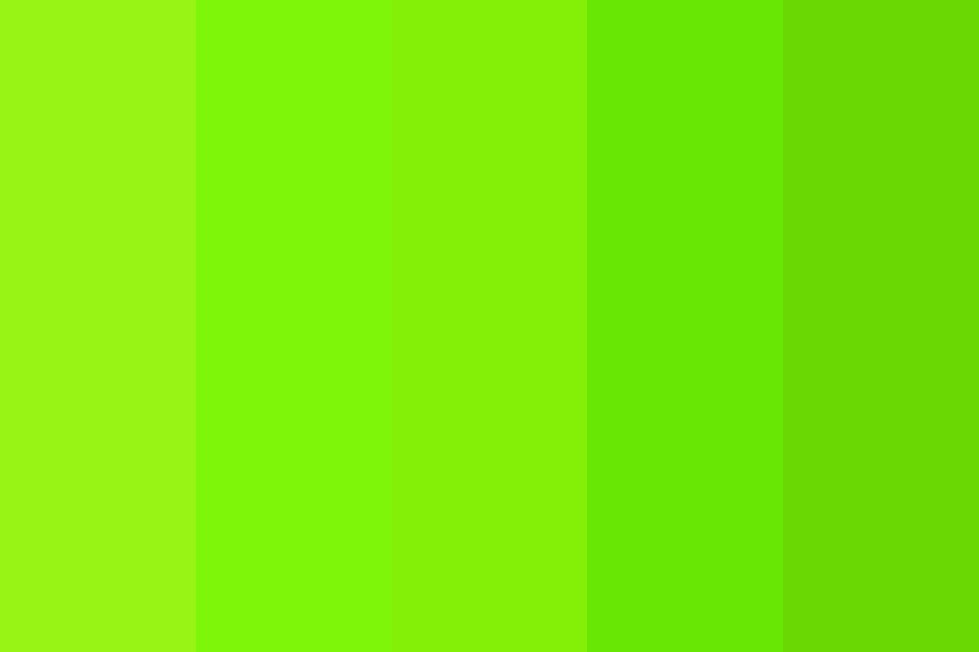 Happy Green Life Color Palette