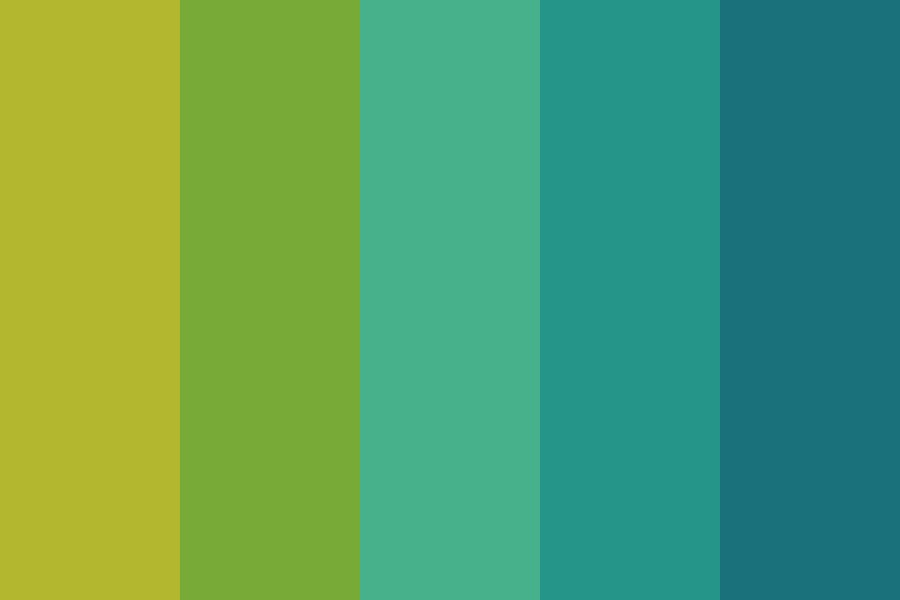 Happy Screaming Night Color Palette