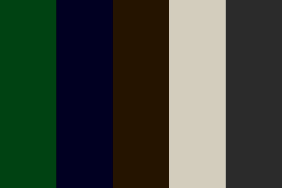 Haunted Forest Color Palette