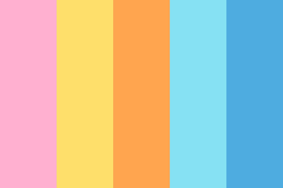 Have You Seen The Sky Color Palette