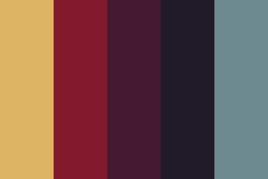 Heart Attack Sunset Color Palette