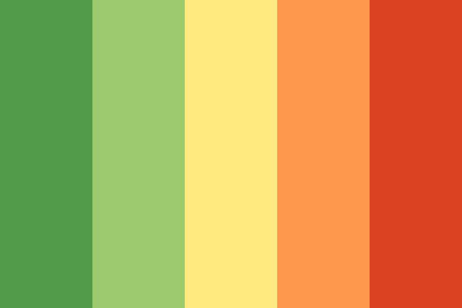 Hedge On Fire Color Palette