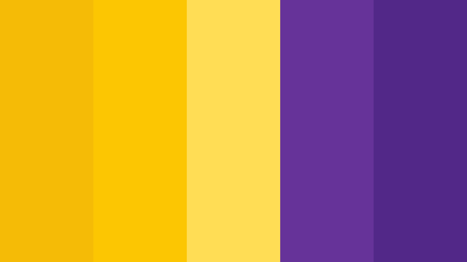 Heinz Mustard Yellow And Purple Color Palette