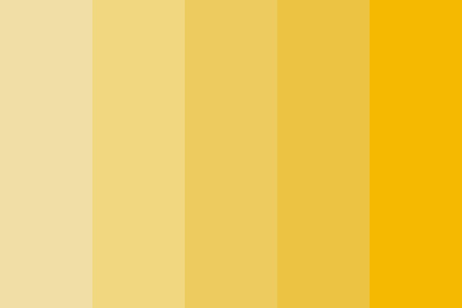 Hello Yellow Color Palette