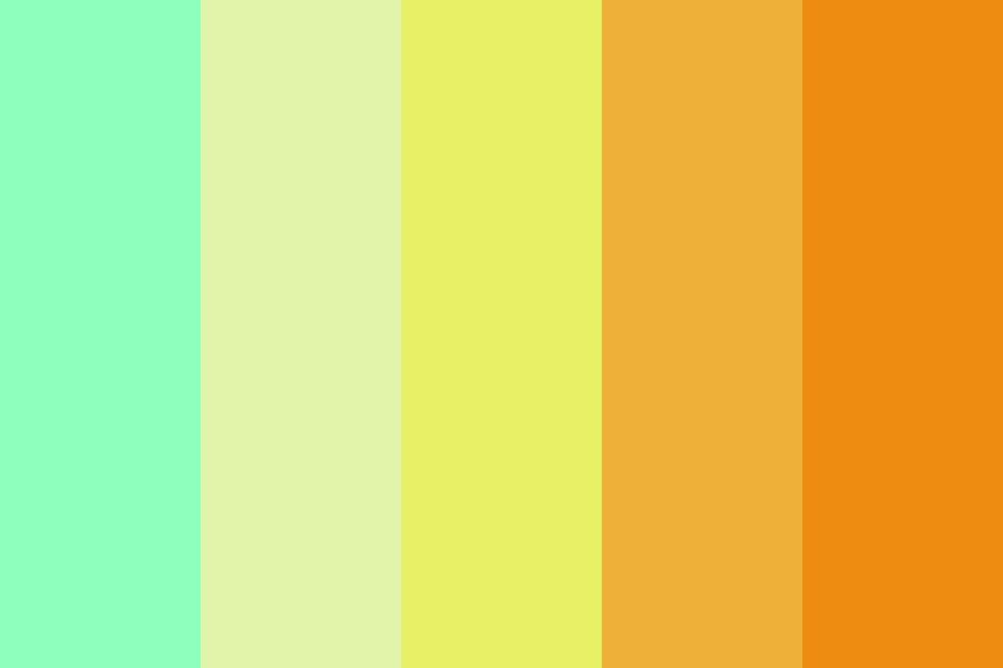 Heres To A Brighter Future Color Palette