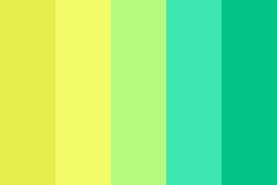 Heres Yellow Color Palette
