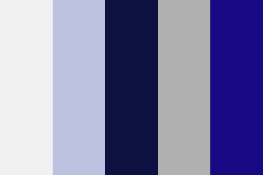 Highlight Blue Color Palette