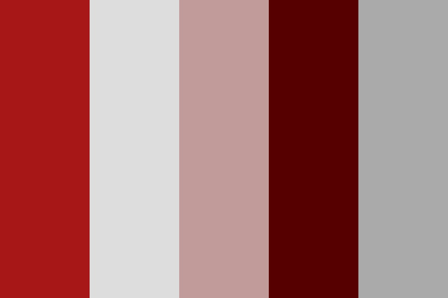 Highlight Red Color Palette