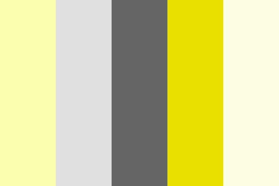 Highlight Yellow Color Palette