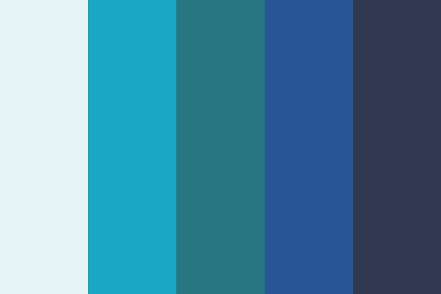 Hipsterblue Color Palette