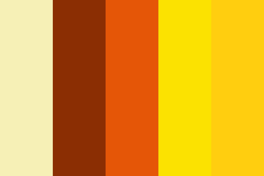 Honey And Sunflower Color Palette