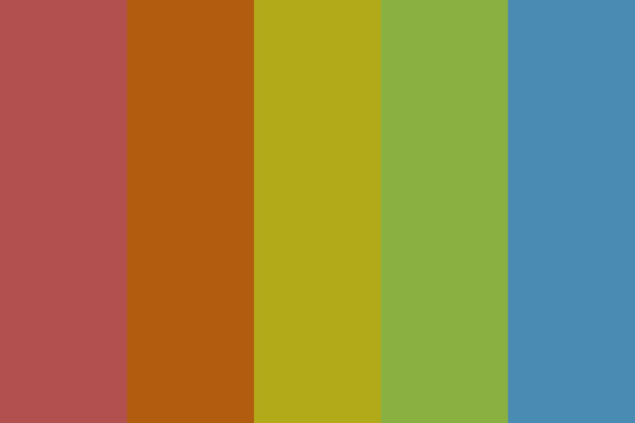 Hopscotch Dark Color Palette