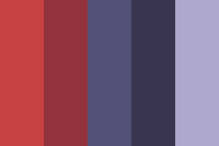 Horror Movie Night Color Palette