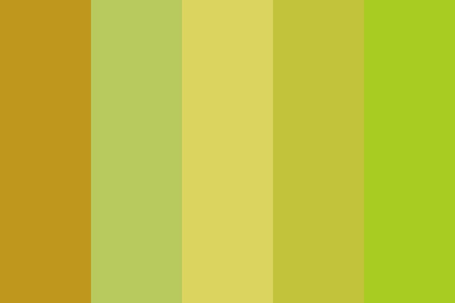 Horses  Of Fall In Up Color Palette