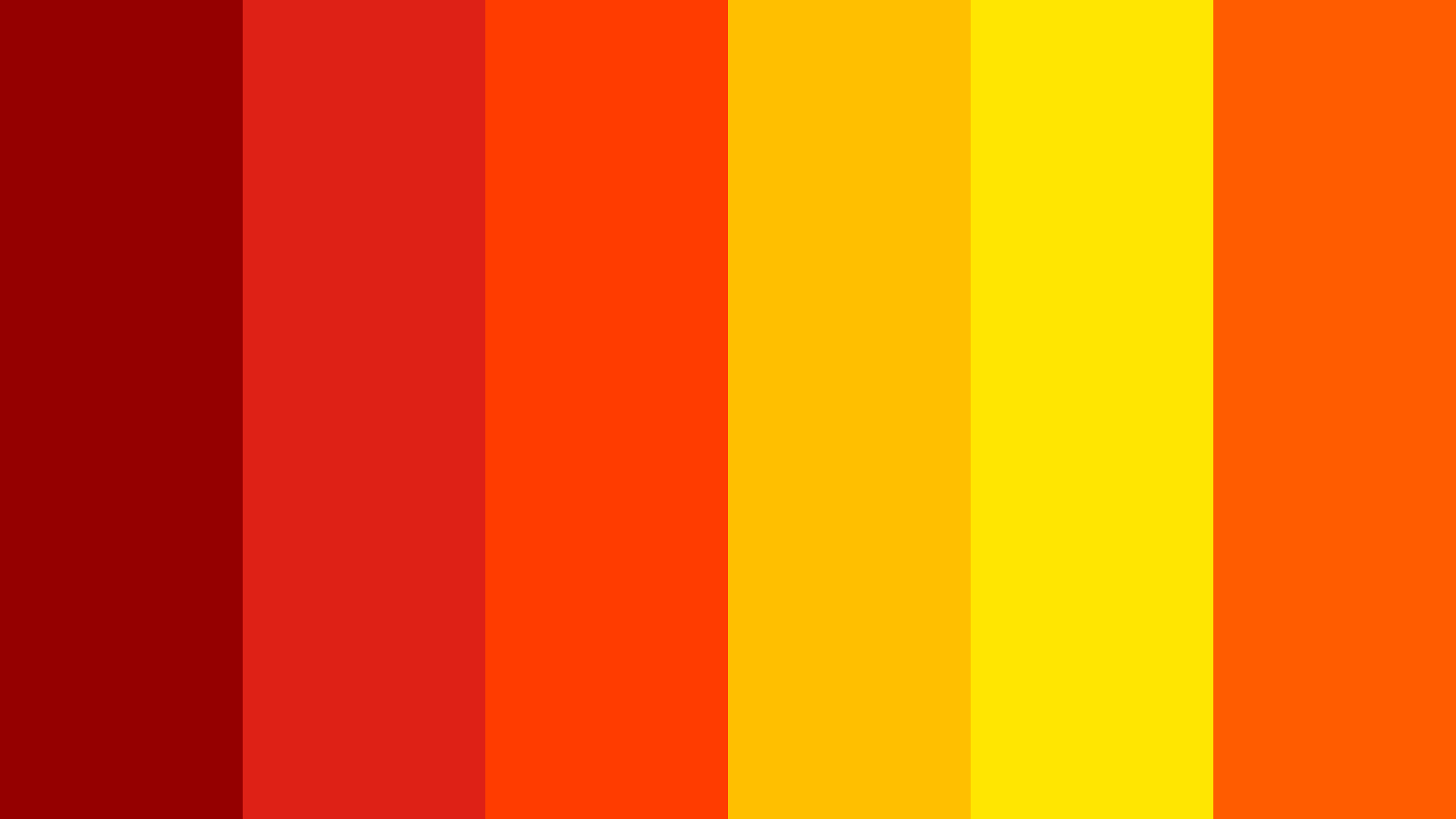 Hot As Hell Color Palette