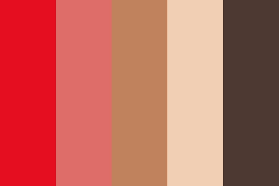 Hotred Color Palette