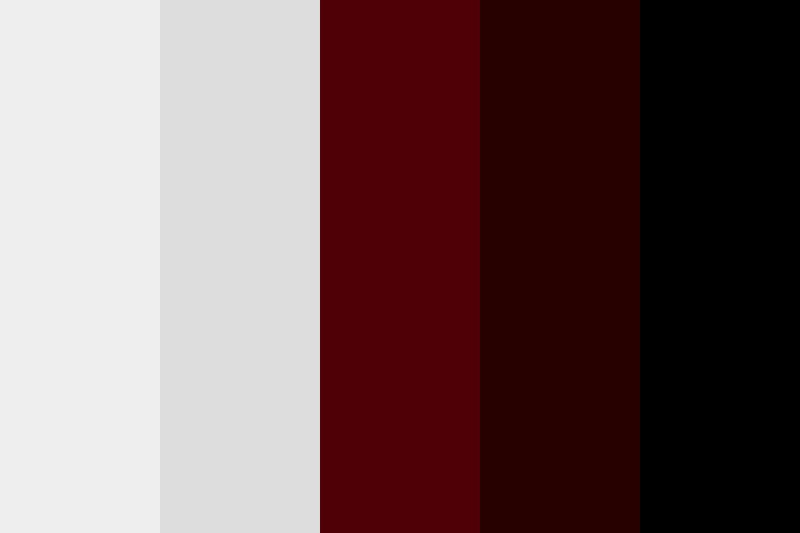 House Of Leaves   Maroon Color Palette