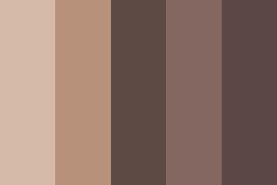 How Brown Can We Go Color Palette