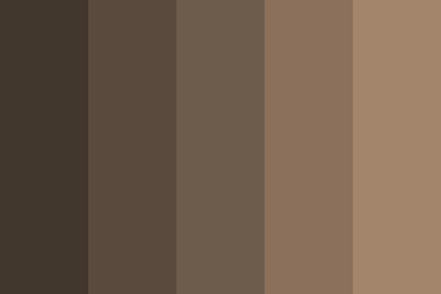 How Brown Can We Go Tho Color Palette