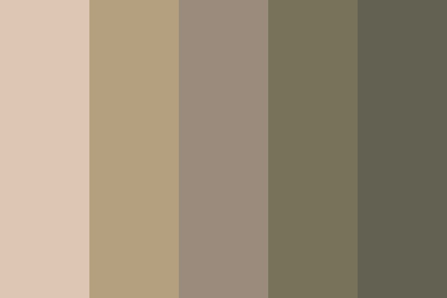 How Dull Can We Go Color Palette