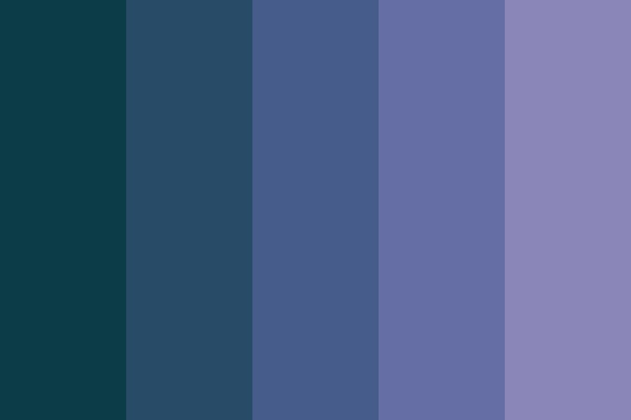 How Summer Nights Smell Color Palette