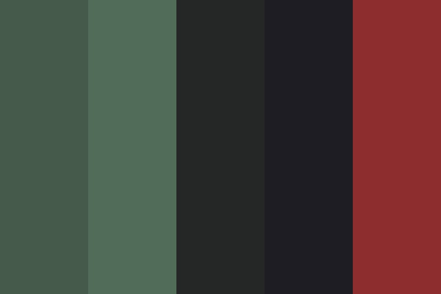 Humans Didnt Ruin Earth Color Palette