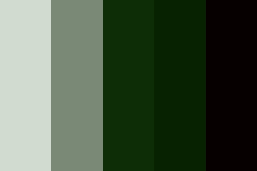 Hunter Green Color Palette