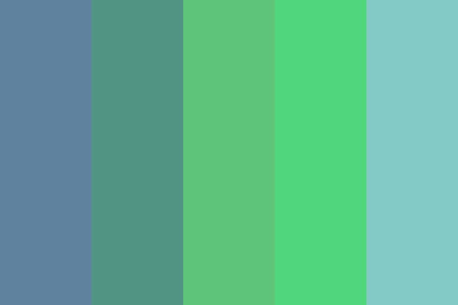 I Am Very Tired Color Palette