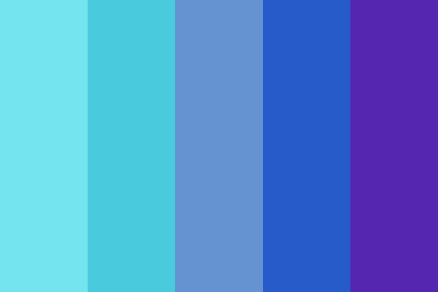 I Dont Wanna Feel Blue Anymore Color Palette
