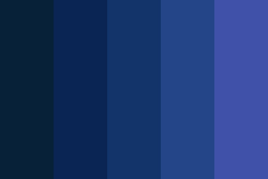 I Feel Blue Color Palette